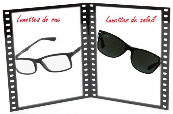 VS 65 : Lunettes de vue / lunettes de soleil
