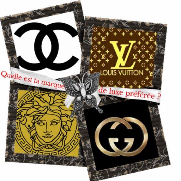 Sondage 137 : Marques de luxe