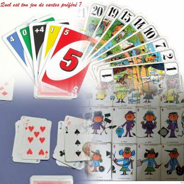 Sondage 140 : Jeux de cartes
