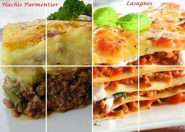 VS 81 : Hachis Parmentier / lasagnes