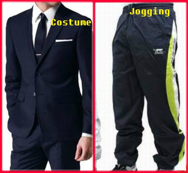 VS 84 : Costume / jogging