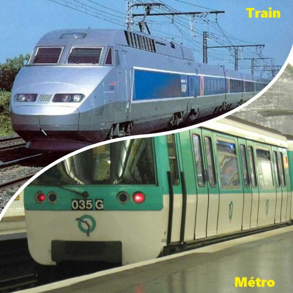 VS 86 : Train / métro