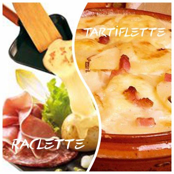 VS 88 : Raclette / tartiflette