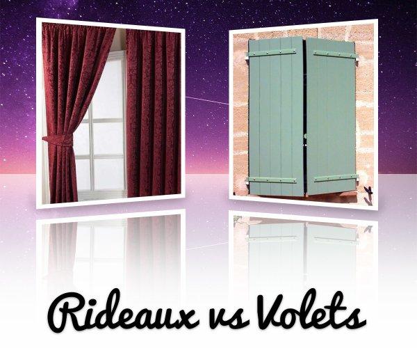 VS 89 : Rideaux / volets
