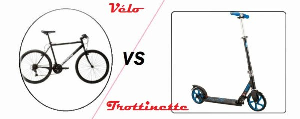 VS 94 : Vélo / trottinette