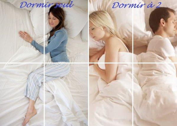 VS 101 : Dormir seul / dormir à 2