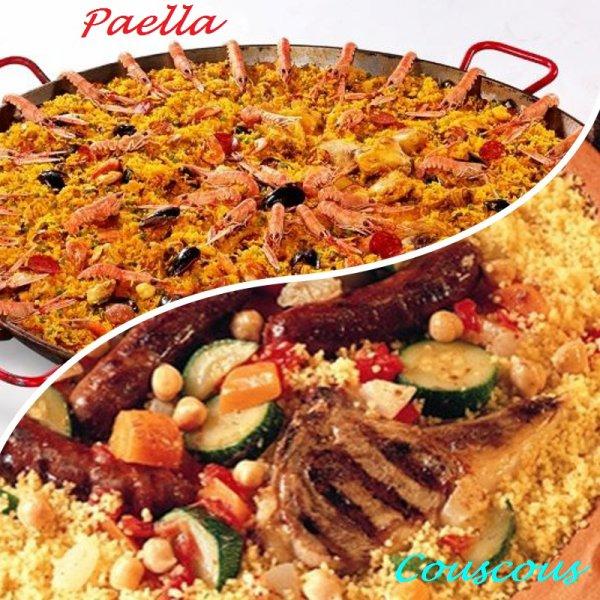 VS 104 : Paella / couscous
