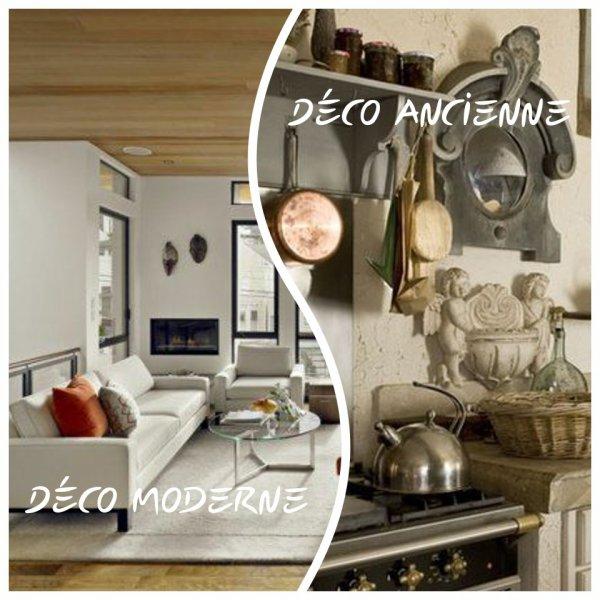VS 107 : Décoration moderne / décoration ancienne