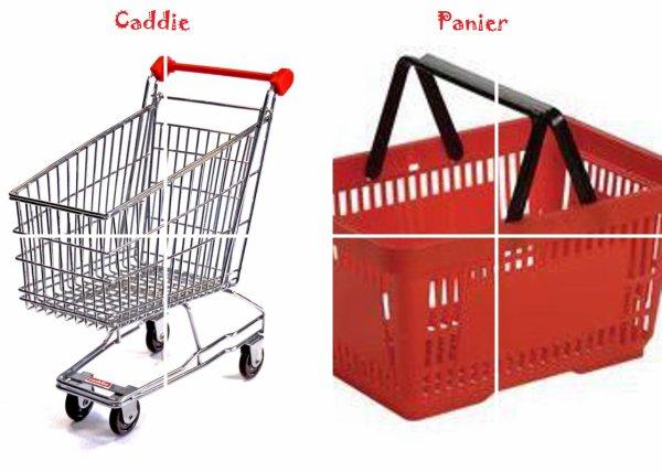 VS 115 : Caddie / panier
