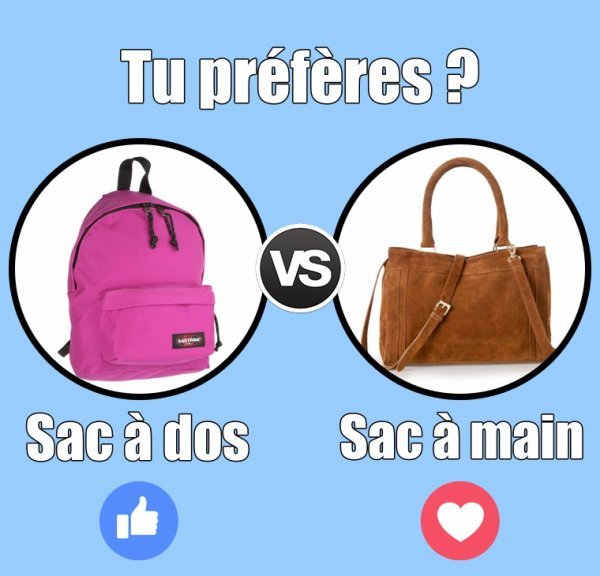 VS 116 : Sac à dos / sac à main