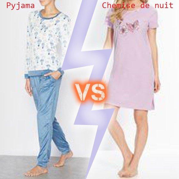 VS 118 : Pyjama / chemise de nuit