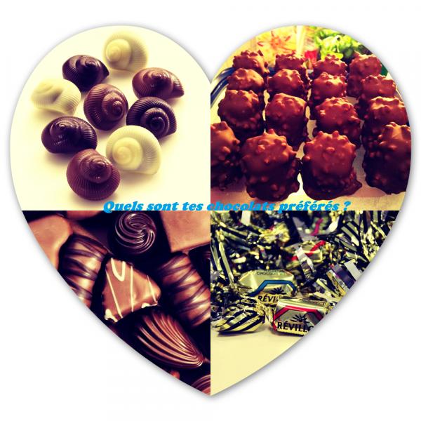 Sondage 157 : Chocolats