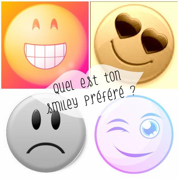 Sondage 159 : Smileys