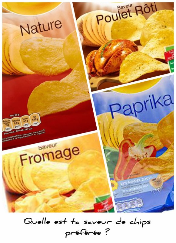 Sondage 165 : Chips