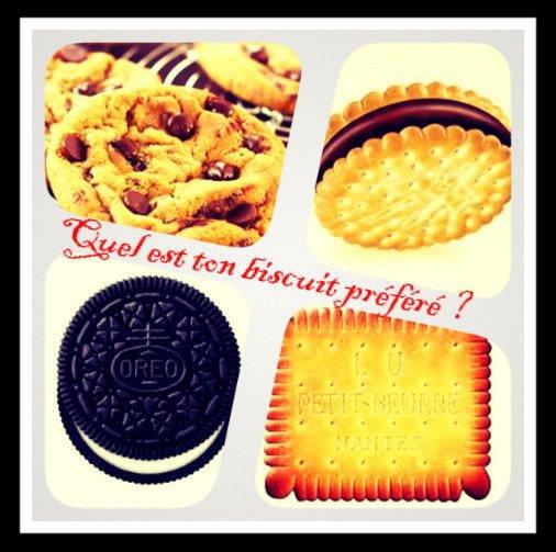 Sondage 175 : Biscuits