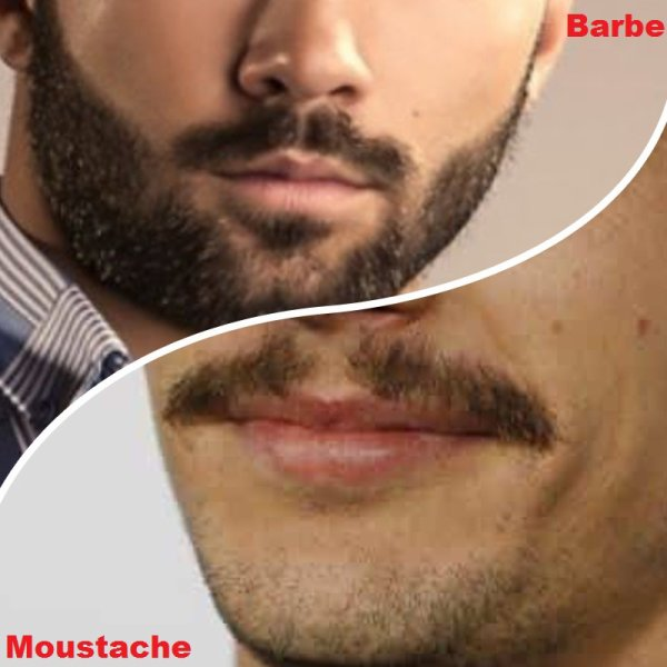 VS 121 : Barbe / moustache