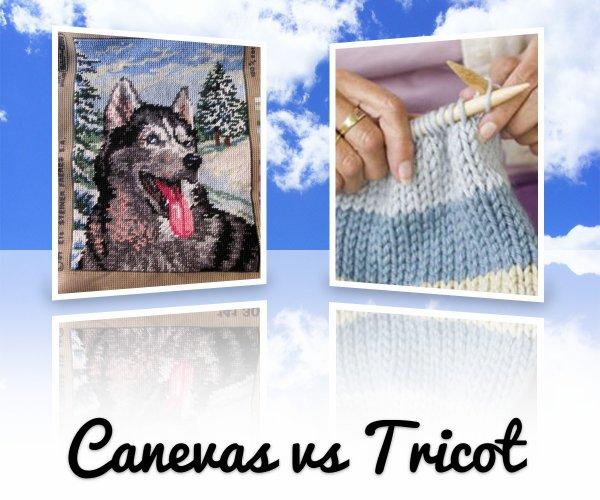 VS 122 : Canevas / tricot