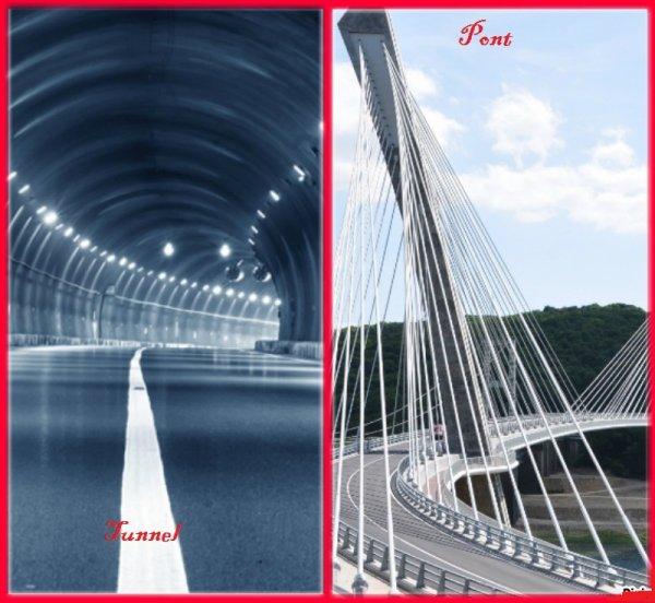 VS 124 : Tunnel / pont