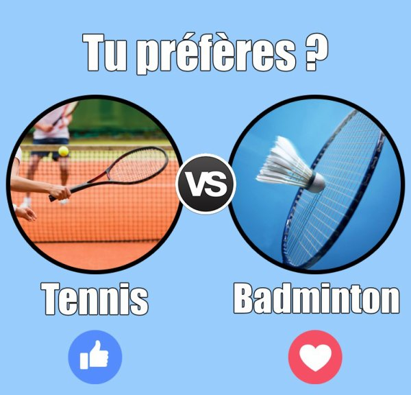 VS 125 : Tennis / badminton