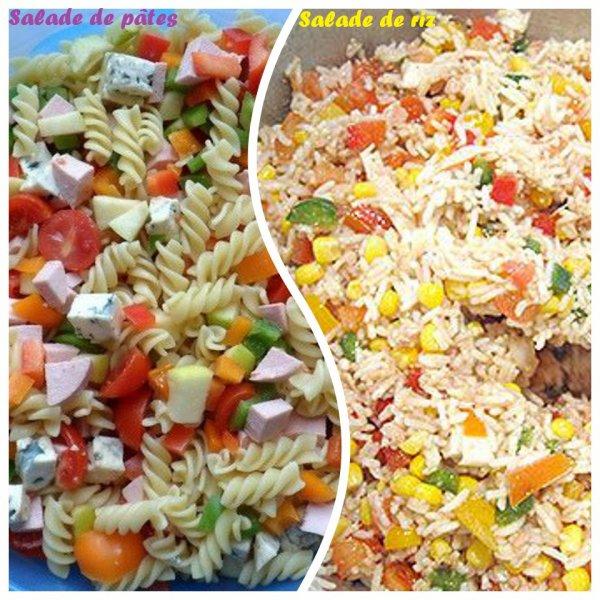 VS 128 : Salade de pâtes / salade de riz