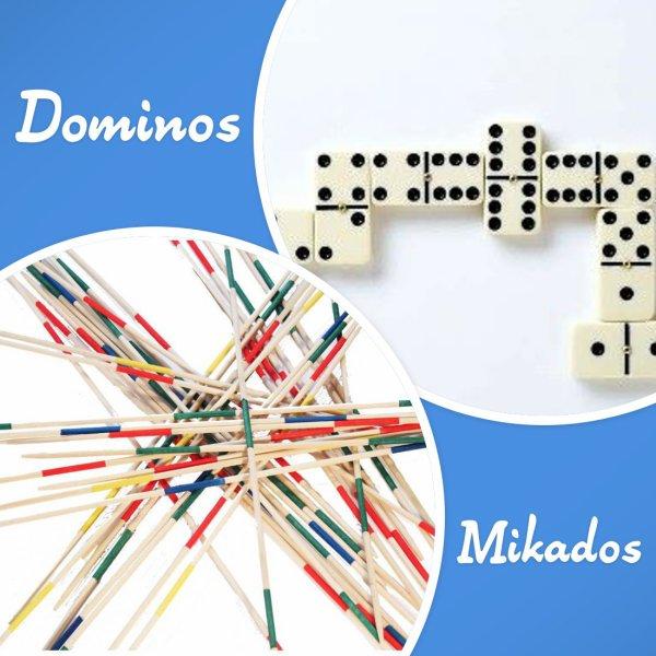 VS 130 : Dominos / mikados