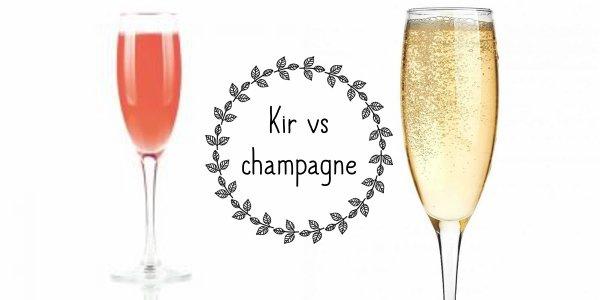VS 131 : Kir / champagne