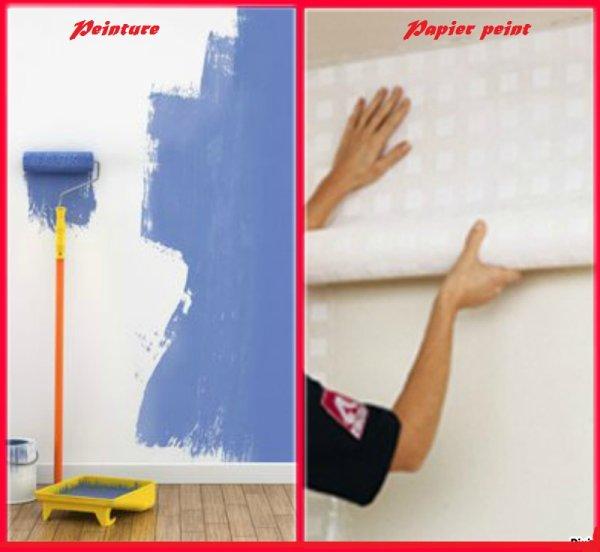 VS 133 : Peinture / papier peint