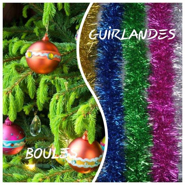 VS 134 : Boules / guirlandes