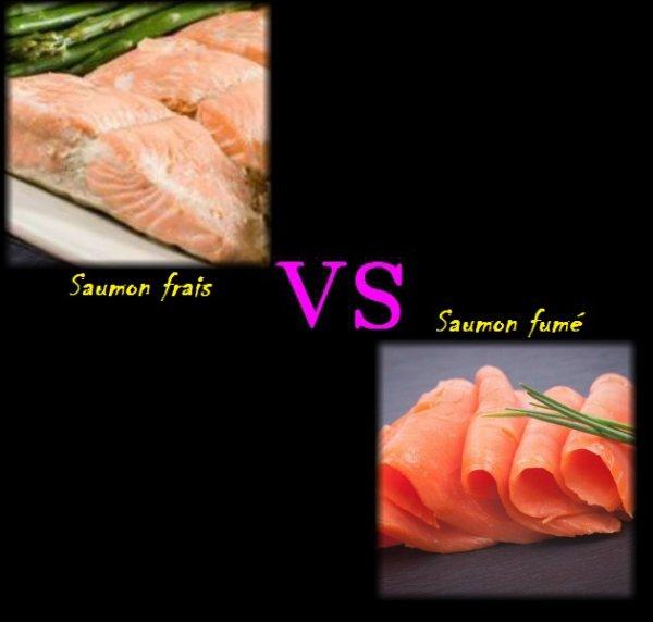 VS 136 : Saumon frais / saumon fumé