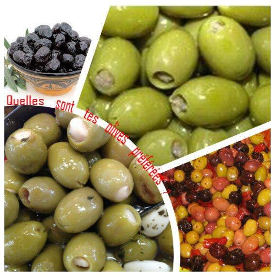Sondage 169 : Olives