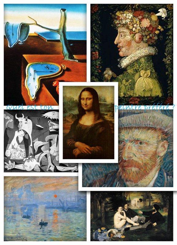 Sondage 168 : Peintres