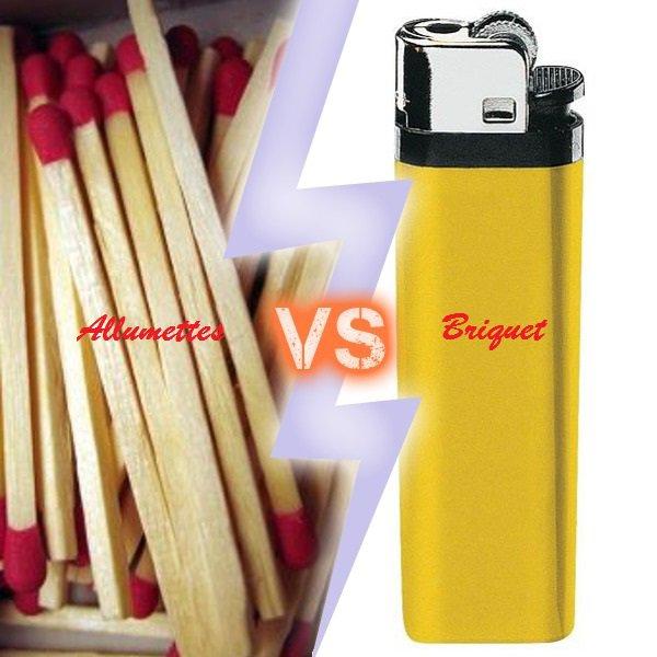 VS 154 : Allumettes / briquet