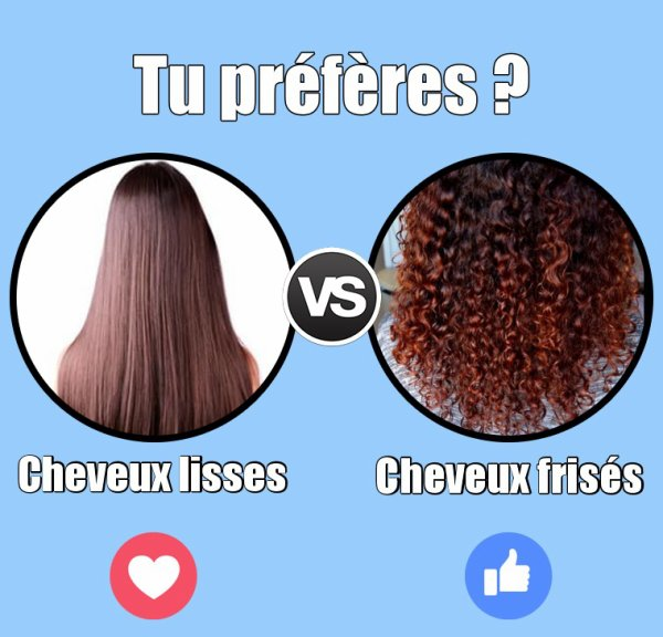 VS 158 : Cheveux lisses / cheveux frisés