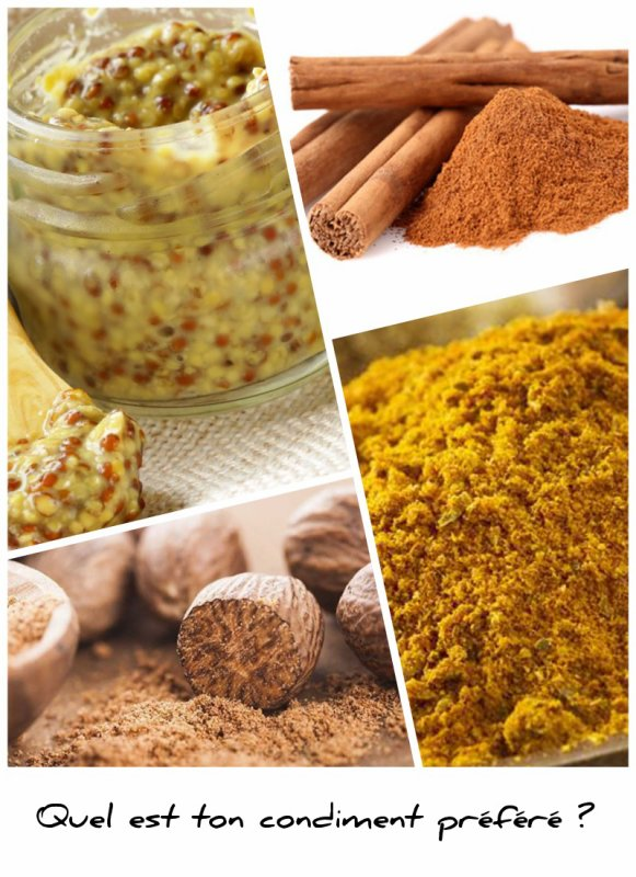 Sondage 183 : Condiments