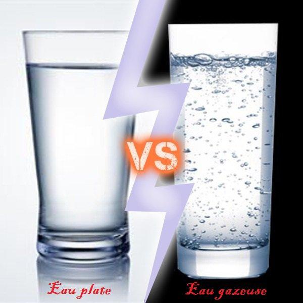 VS 167 : Eau plate / eau gazeuse