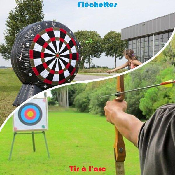 VS 170 : Fléchettes / tir à l'arc
