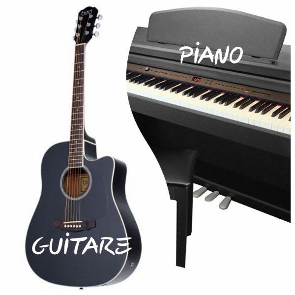 VS 176 : Guitare / piano