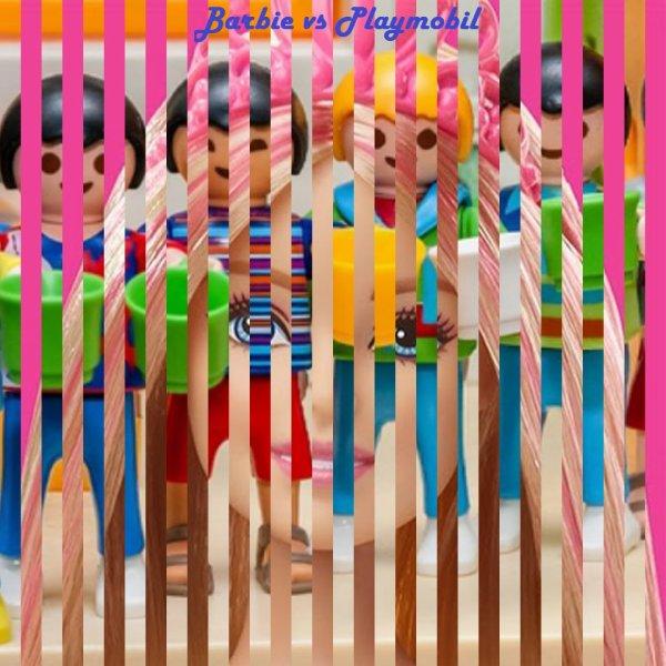 VS 181 : Barbie / Playmobil