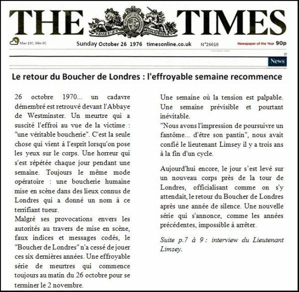 Chapitre 10 : Le Boucher de Londres