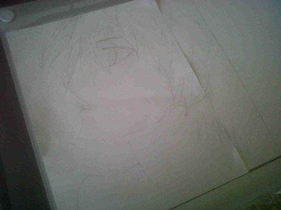 Mon dessin pour mon concours ^^