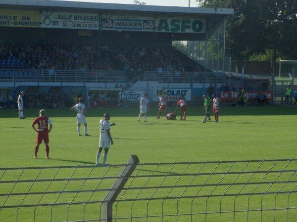 En Avant de Guingamp 2 - 0 Stade Brestois à St brieuc Match Amical