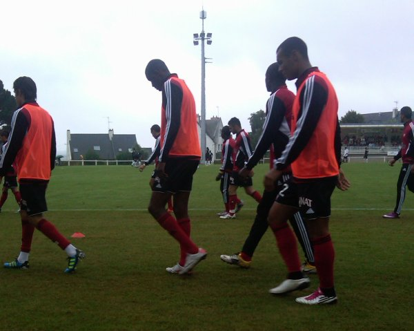 En Avant de Guingamp 0 - 0 Vannes Olympique Club à Perros  Match Amical