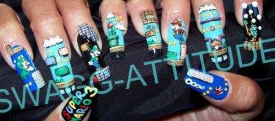 Les ongles signés Mario!