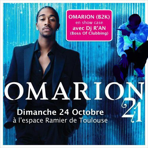 OMARION and Dj R'AN live @ Toulouse espace Le Ramier