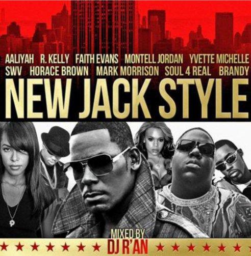 """NEW JACK STYLE """"Best of"""" mixé par Dj R'AN"""
