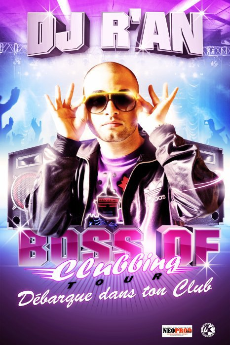 "Dj R'AN ""BOSS OF CLUBBING TOUR"" @ Room 157 (Toulouse) ""DIRTY ST VALENTIN"""