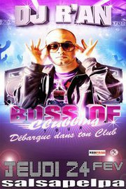 "Dj R'AN ""BOSS OF CLUBBING TOUR"" @ SALSAPELPA (DIJON)"