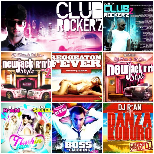 Dj R'AN MIXTAPE PODCAST ITUNES OFFICIAL BOSS OF CLUBBING