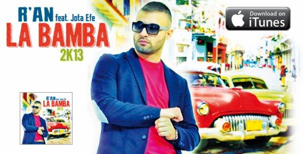 R'AN - LA BAMBA 2K13 EN VENTE SUR I TUNES