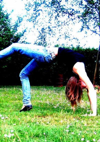 gymnastique , plus qu'un simple sport , une passion <3.